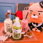 【釜山カフェ】カワイイボトルも貰える生フルーツジュースカフェ!UDALLY