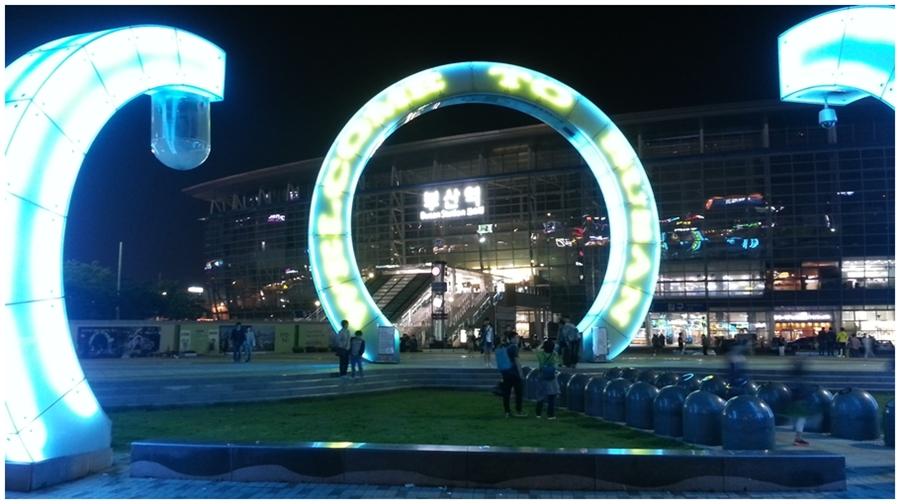 ▲釜山駅到着