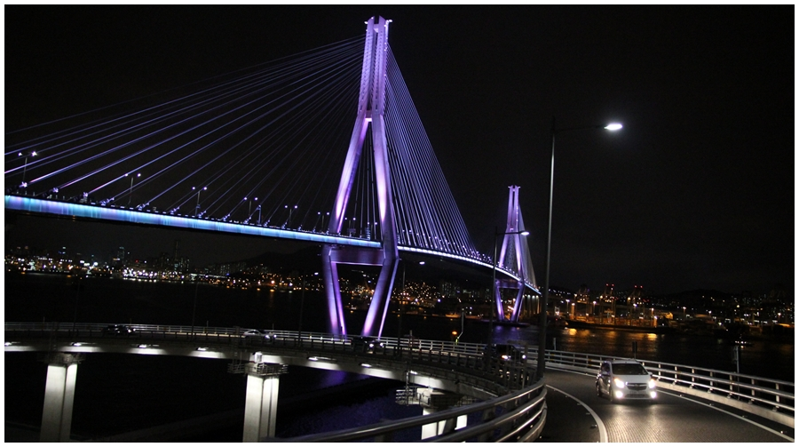▲釜山港大橋(経由)