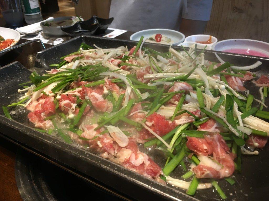 ▲오리불고기간장/醤油ベース鴨肉プルコギ