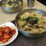 【釜山/釜山駅】釜山駅で気軽に食べれるスジェビのお店
