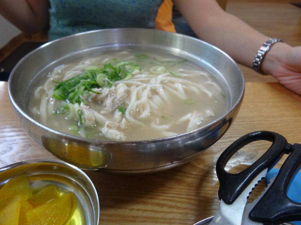 ▲닭칼국수/鶏肉カルグクス