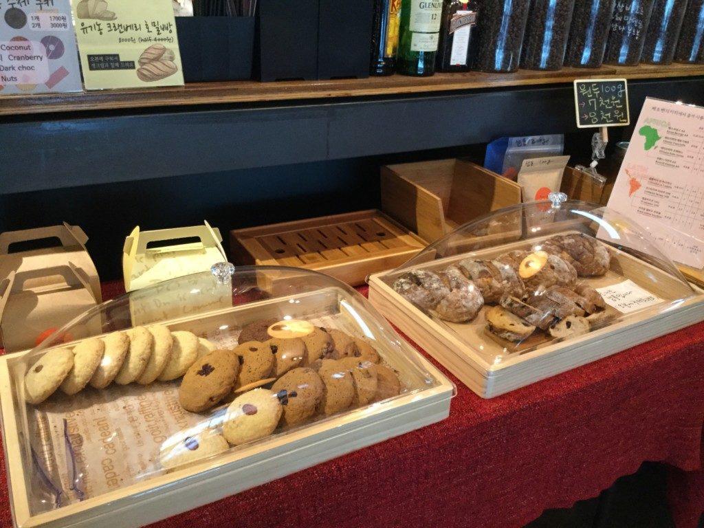 ▲手作りクッキー