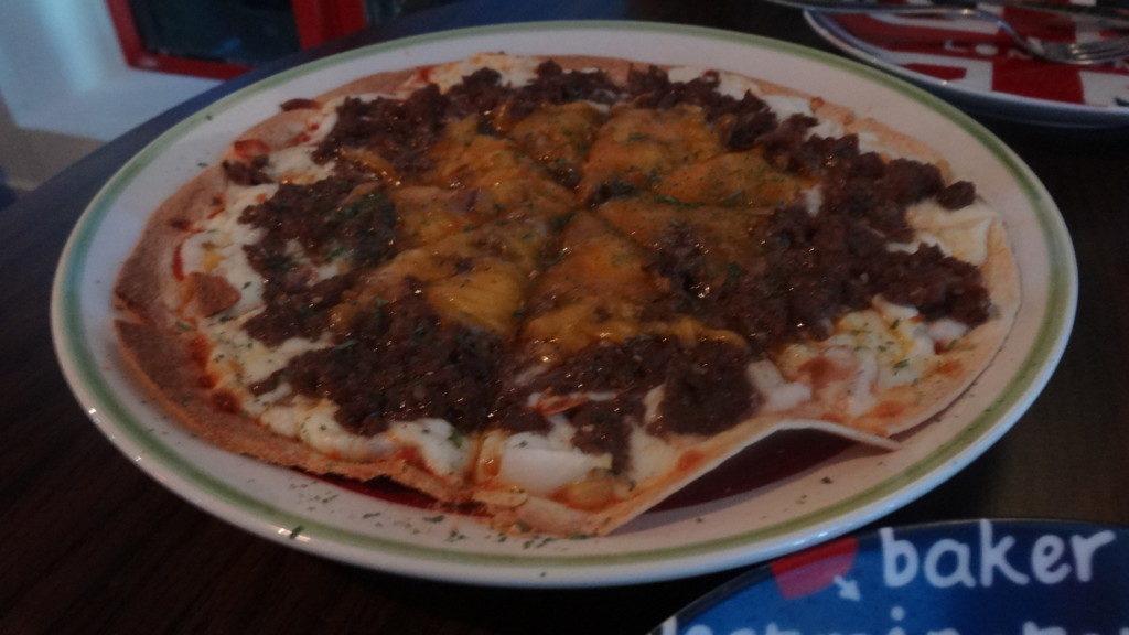 ▲Bulgogi pizza/プルコギピザ