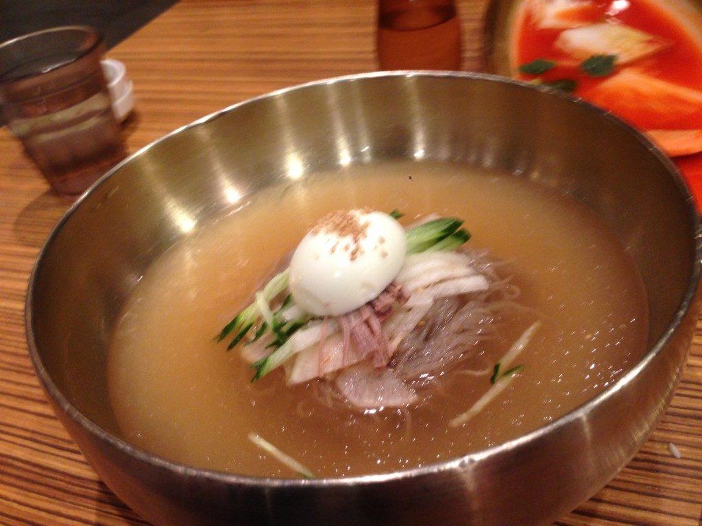 ▲비빔냉면(ビビンレンミョン/冷麺)