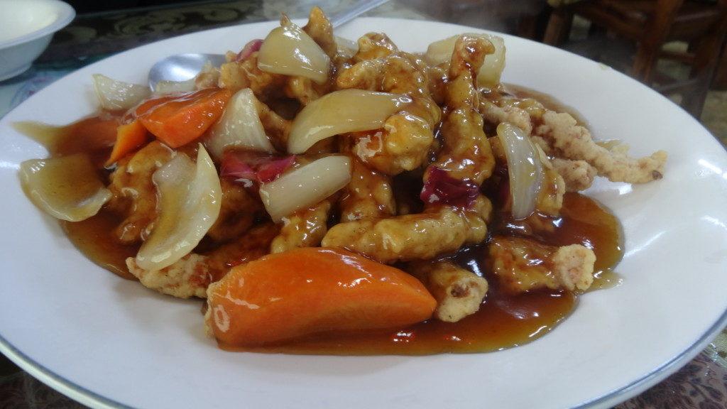 ▲ 탕수육/韓国式酢豚