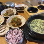 【釜山/東菜駅】【1人OK】韓国の健康食!干し大根の葉味噌汁定食!