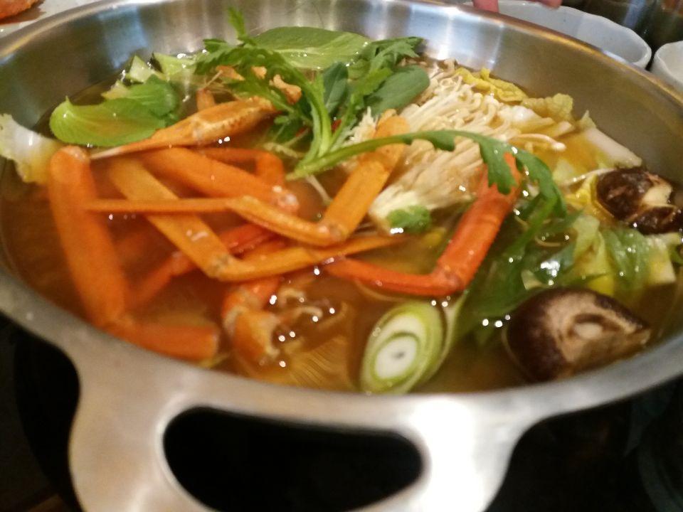 ▲蟹スープ
