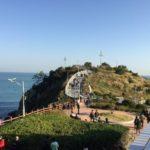 【釜山旅行】在韓日本人ツアー釜山シティツアーバスで五六島観光&イギデ展望台