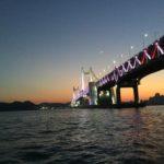 【釜山旅行】在韓日本人ツアー広安大橋の夜景を見ながらヨットクルーズ!