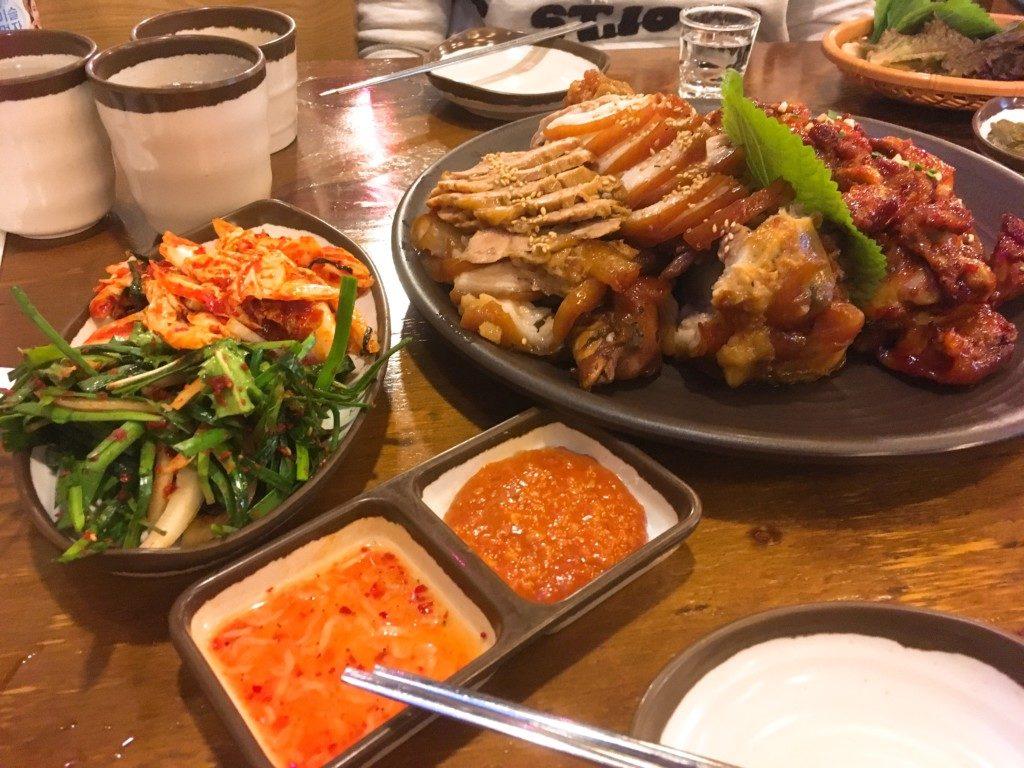 ▲チョッパル/韓国式豚足