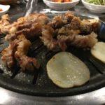 【釜山/西面駅】【1人OK】ハナニク??カリカリジューシーに焼いたサムギョプサルが食欲がそそられる!