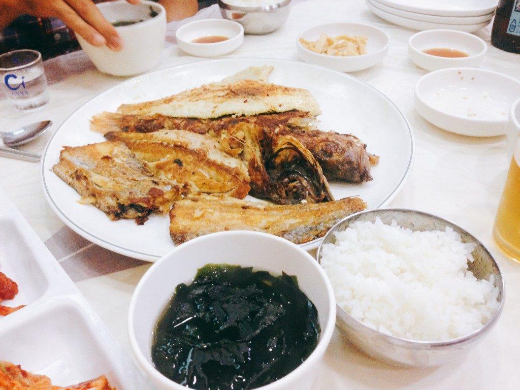 ▲焼き魚セット