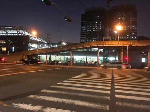 ▲釜山駅まで