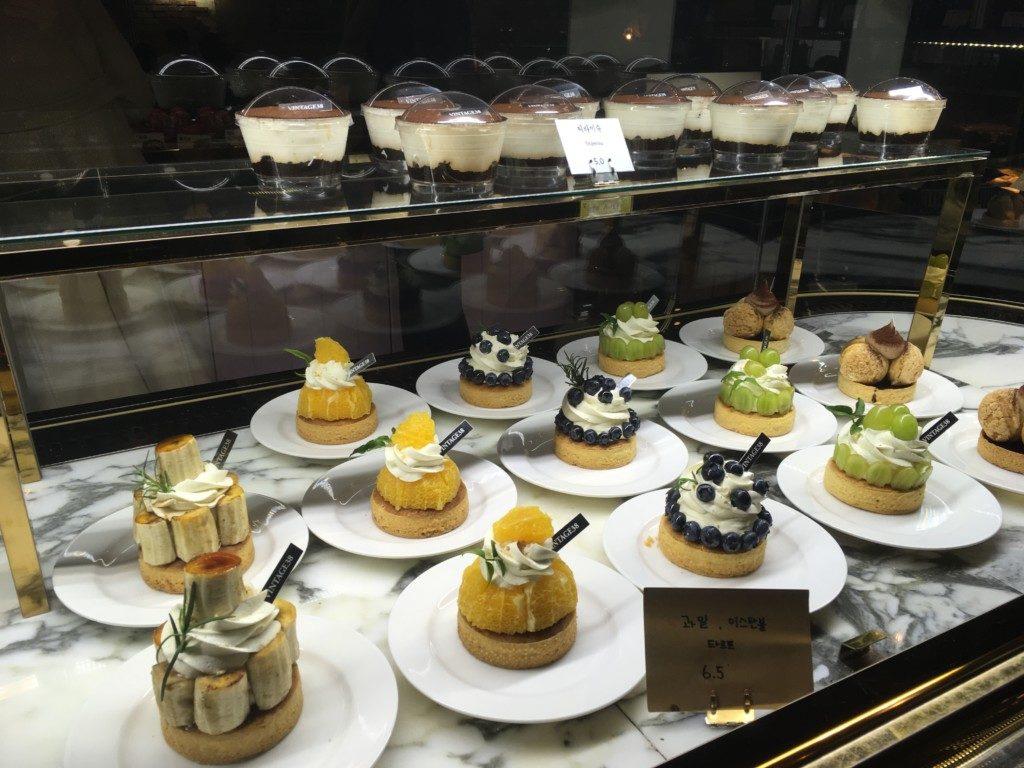 ▲ケーキたくさん(^^♪