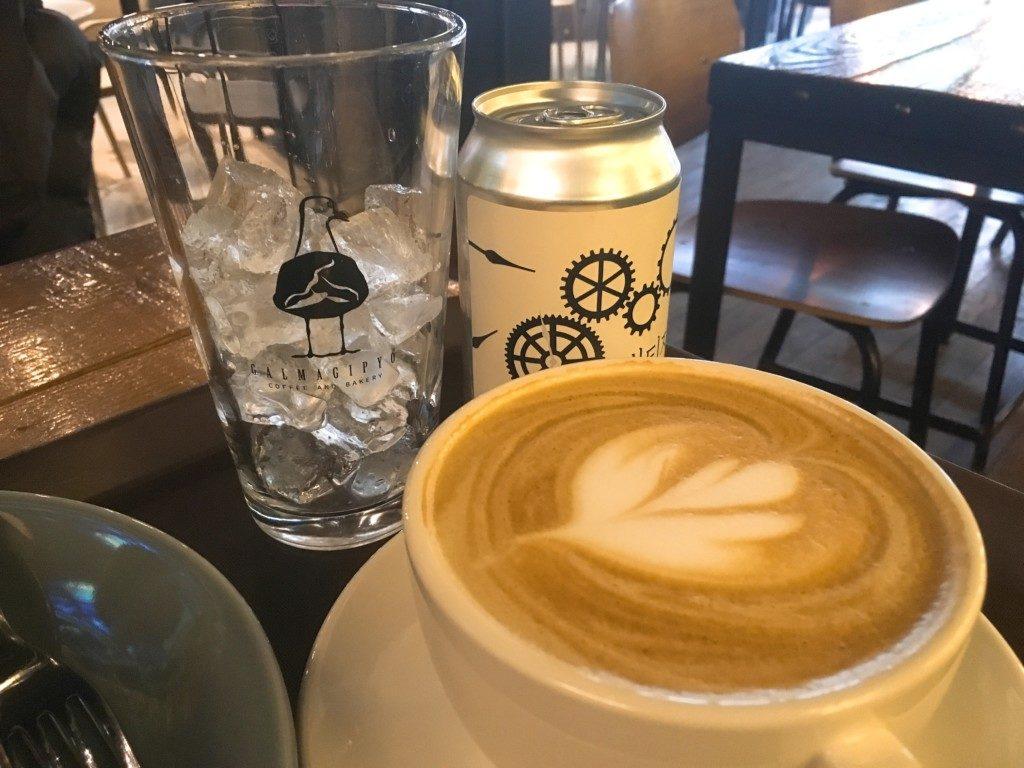▲ミルクティーとカフェラテ