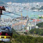 【釜山旅行専門会社】統営(トンヨン)有名観光地ツアー!ケーブルカー、中央市場、東ピラン壁画村