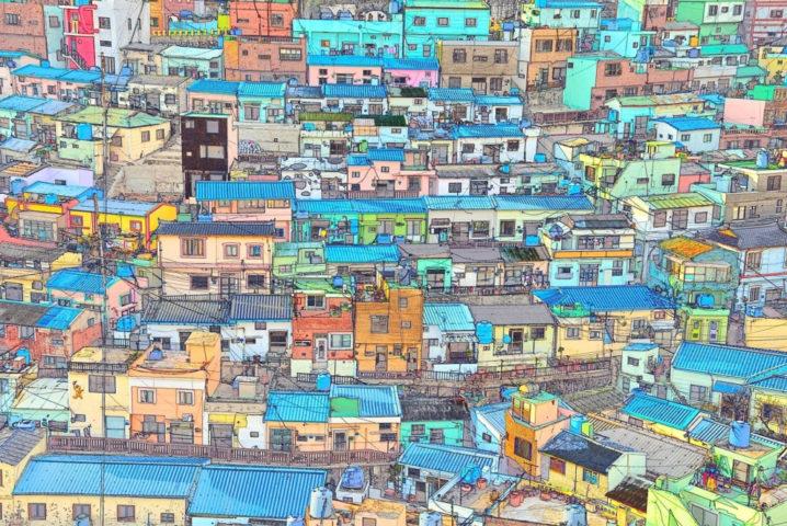釜山甘川文化村
