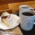 【釜山カフェ】水営駅 1人OK ケーキとコーヒーセットで3800ウォン!