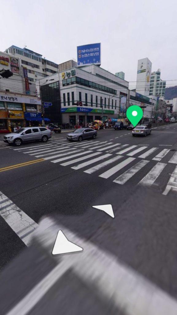 ▲ジャガルチ駅付近横断歩道