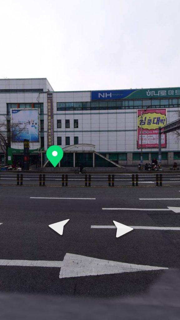 ▲ジャガルチ駅付近エスカレーター