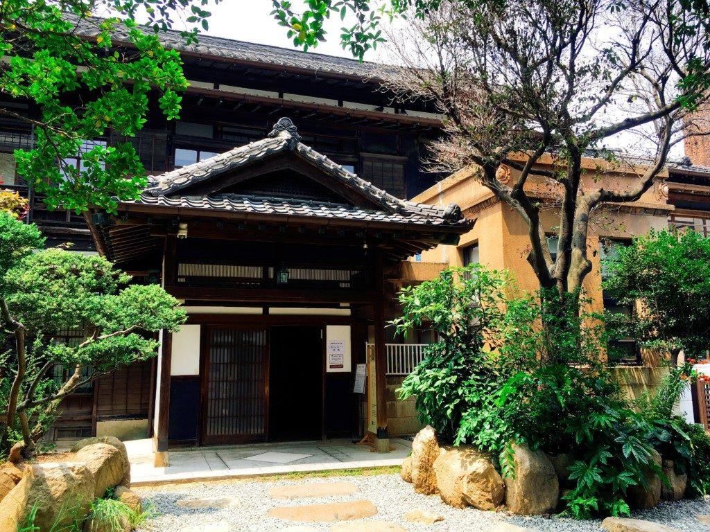 ▲日本式家屋カフェ