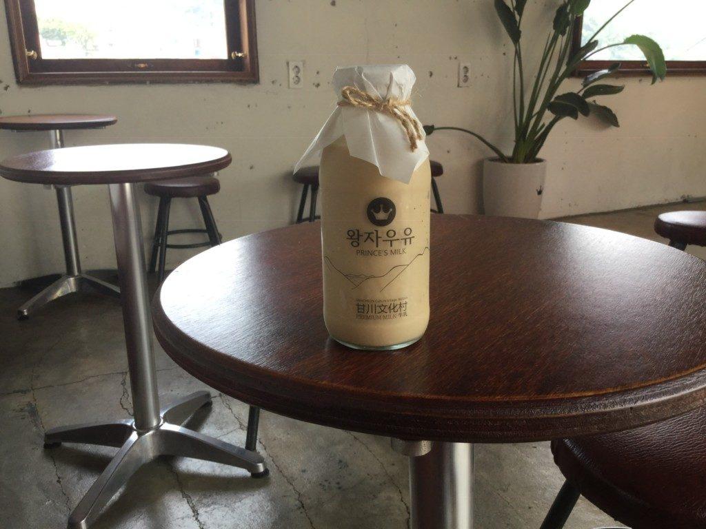▲カフェおススメのミルクティー