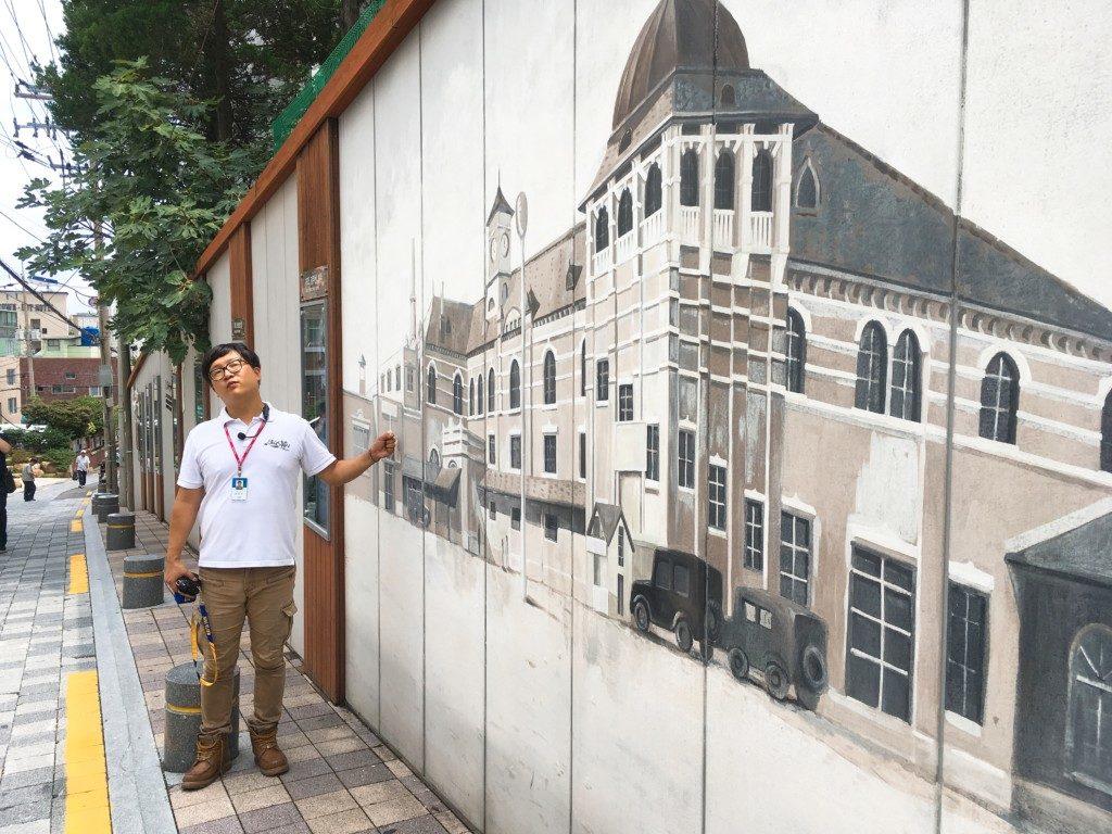 ▲昔の釜山駅