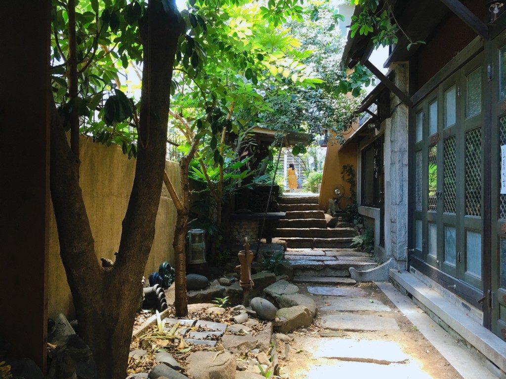 ▲釜慶大学付近文化通り