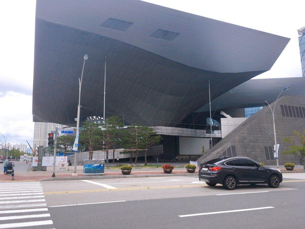 ▲釜山映画の殿堂