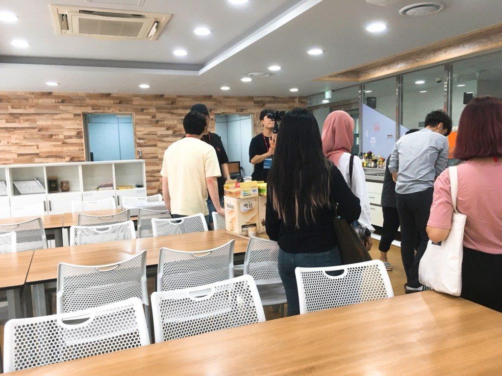 ▲アジア映画学校(食堂)