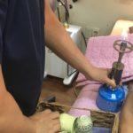 【釜山漢方鍼】カッピング(火を使った)治療も可能です。