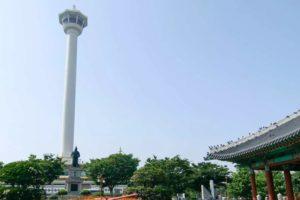 【韓国】港町・釜山の景色を一望 釜山タワー展望台入場チケット(龍頭山公園)