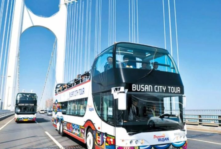 【観光バスが1日乗り放題】韓国・釜山シティツアーバス 1日乗車チケット