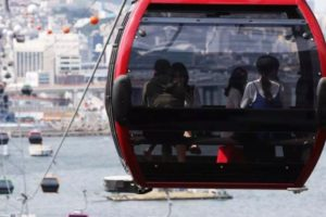 【釜山オーシャンビュー】松島海上ケーブルカー往復乗車チケット:キャビン選択可