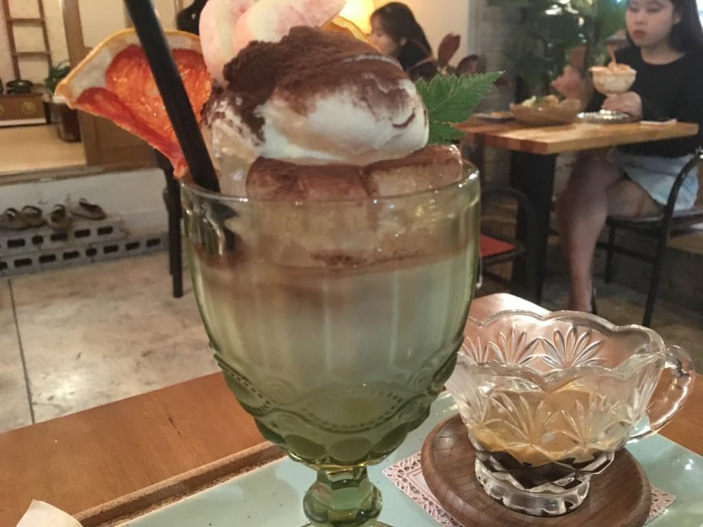 ▲アイスクリームラテ