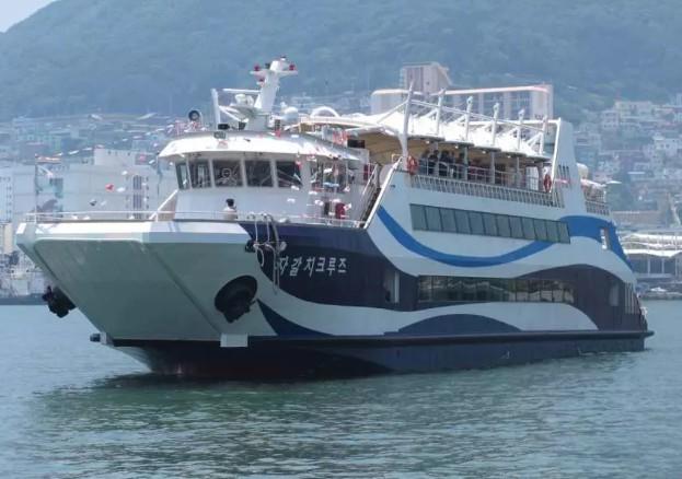 【釜山】釜山港チャガルチクルーズ:乗船チケット