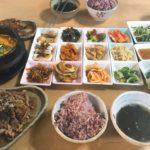 【釜山/広安里グルメ】1人OK!おかずたくさん韓国定食屋さん♪