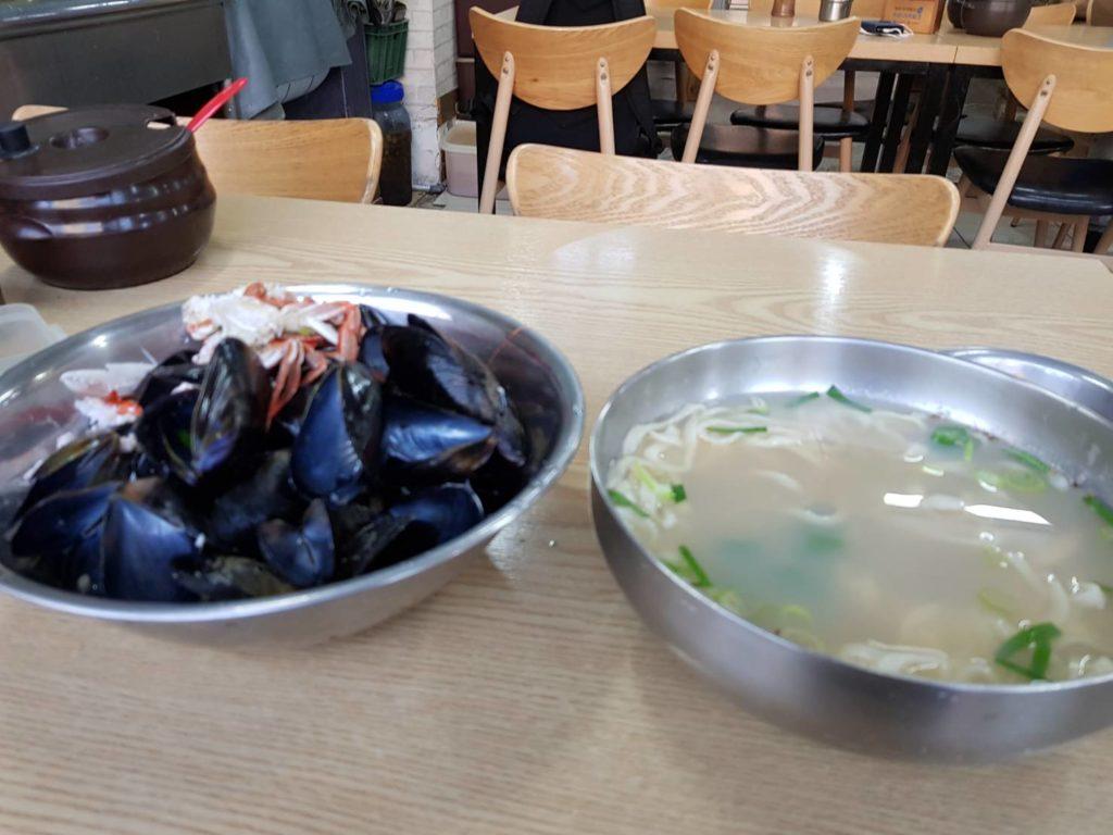 해물칼국수/海鮮カルグクス